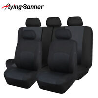New car seat covers protectors washable breathable black Toyota SUV truck van