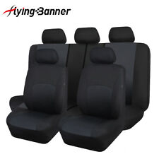 New car seat covers protectors washable breathable black toyoto SUV truck van