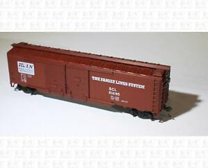 Athearn HO 50' Double Door Boxcar Family Lines SCL KD