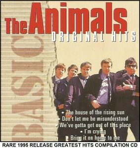 The Animals - The Very Best Essential Greatest Hits Compilation RARE 60's CD