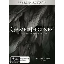 GAME OF THRONES-Season 5-Region 4-New AND Sealed-6 Disc Set-TV Series