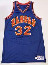 RARE 1987 1988 MIKE MADDOX GAME USED KANSAS JAYHAWKS NCAA BASKETBALL JERSEY COA