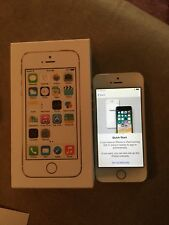 Apple Iphone 5s (AT&T) cell phone 16GB GOLD ~ **Used** Great Condition