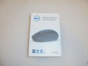 NEW GENUINE Dell Scrolling Wireless Mouse Blue B02  WM126 NNP0G