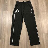 Phoenix Suns NBA Engineered Mens XL Tall Black Dri Fit Warm Up Pants Sewn Logo