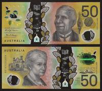 AUSTRALIA 50 Dollars 2018 P-NEW Polymer UNC Uncirculated