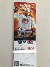 unused hockey tickets Montreal Canadiens 2017 season Andrew Shaw