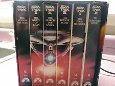 Star Trek The Movie Collection On Vhs 1991 Original Collectible