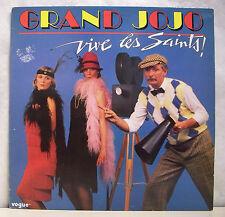 """33 tours GRAND JOJO Disque Vinyle LP 12"""" VIVE LES SAINTS - CHANSONS A BOIRE"""