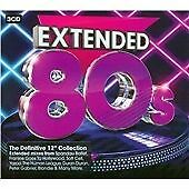 "Various Artists - Extended 80s (The Definitive 12"" Collection, 2014) CD"