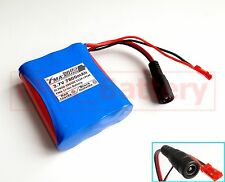 One Sanyo 18650 Li-ion battery pack 3.7V 7800mAh 3cells to 1S3P W/PCM & Plug