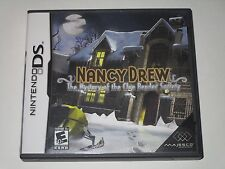 Nancy Drew: The Mystery of the Clue Bender Society (Nintendo DS,2008) *Complete*