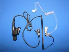 Acoustic Air Tube Headset Microphone For Motorola HT MTX GP EF Johnson XTS