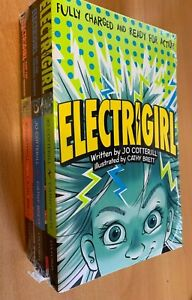 Pack of 3 Electrigirl Books by Jo Cotterill
