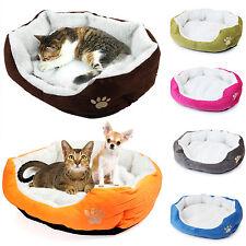 Warm Dog Puppy Cat Pet Washable Nesting Sleeping Bed House Teddy Basket Pad Mat