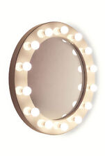 Miroirs sur pied rond pour la décoration intérieure