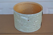 70's LUDWIG MARCHING SNARE DRUM SHELL in WMP for YOUR DRUM SET! #C805