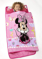 Nap Mat for Toddlers Minnie Mouse Kids Girls Kindergarten Preschool Sleeping Bag