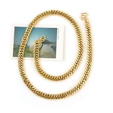 """Men's Necklace 18k Yellow Gold Filled Cool Chain 24"""" Link Fashion Jewelry HOT"""