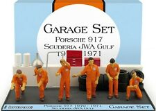 1/43 GARAGE SET SCUDERIA GULF JWA RACING 1970/71 Brumm GS05