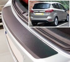 FORD B- MAX - CARBONE STYLE Pare-chocs arrière protection