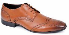 Zapatos con Cordones para Hombre de Cuero Estilo Traje De Trabajo De Oficina Vestido Formal De Boda Talla