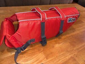 Outward Hound 22021 Granby Splash Adjustable Dog Life Jacket Orange LARGE
