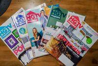HGTV Magazines ~ Lot Of 5 ~ 2020 APR MAY JUNE SEPT OCT 2020
