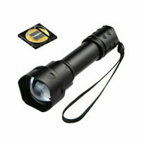 Outdoor UF-T20 Infrared IR 850nm Night Vision Zoom LED Flashlight Super Bright D