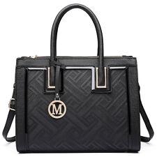 Women Designer PU Leather  Shoulder Tote Large Handbag  Ladies Work bags