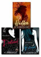 BETRAYED,DESTINED and HIDDEN by P.C. & Kristin Cast Novel Collection 3 Book Set