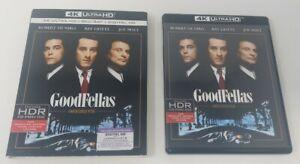 Goodfellas 4K Ultra HD Blu-ray Martin Scorsese w/ Slipcover De Niro Liotta Pesci