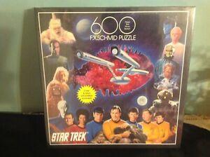 Star Trek Vintage Sealed 600 Piece  FX Schmid NEW in Box