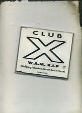 CLUB X - W A M  R I P 5 MIX CD SINGLE   - X-TRAX RECORDS