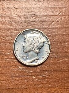 1941 PROOF MERCURY SILVER DIME-VERY SCARCE! GORGEOUS COIN!! SHIPS FREE!