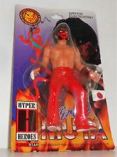 NJPW Great Muta Autographed Figure - Hyper Heroes - NJPW - RED - Keiji Mutoh
