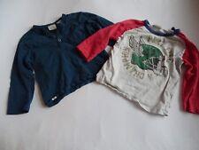 ZARA BABY BOY  Zwei LG Shirts Gr.18/24 92
