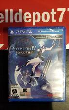 Brand New Deception IV: Blood Ties (Sony PlayStation Vita, 2014)