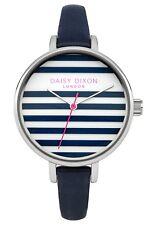 Daisy Dixon Ladies Lauren Navy Leather Strap Watch DD025US