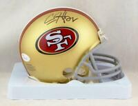 Carlos Hyde Autographed San Francisco 49ers Mini Helmet- JSA W Authenticated