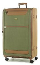 Member Boston XL Size Light weight Luggage with Trolley  Olive Green colour