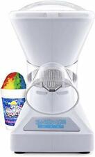 Little Max Snow Cone Machine Premium Shaved Ice Maker With Powder White