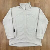 BERGHAUS Womens Thick Fleece Jacket   Outerwear Full Zip   UK 14 White