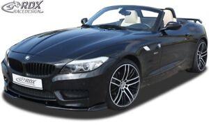 RDX Spoilerlippe für BMW Z4 E89 ab Bj. 09 M-TECH M Front Ansatz Schwert Lippe