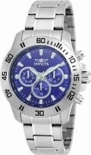 Invicta Specialty 21482 Men's Round Dark Blue Analog Day Date 12 & 24 Hr Watch