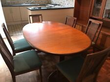 G Plan Extending Dining Table and Chairs