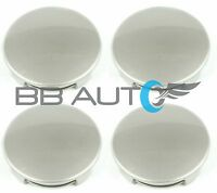 SET OF 4 NEW SILVER WHEEL HUB CENTER CAPS 3.25 INCH FOR TUNDRA TACOMA SEQUOIA
