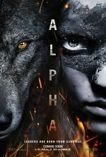 Alpha - original DS movie poster - 27x40 D/S Advance