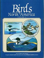 Birds of North America, Vol. 1, Stained Glass Pattern Book, Birds, Ducks, Decoys