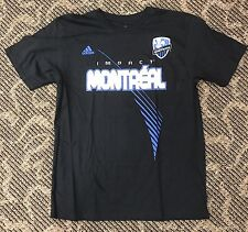 Montreal Impact Adidas GO-TO TEE Men's Shirt Size XL Two-Sided Printing